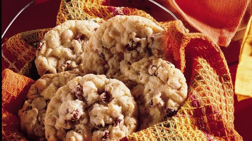 Cranberry and Vanilla Chip Cookies