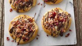 Mocha Latte Bacon Danish