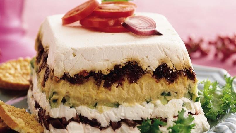 Mediterranean Layered Torte