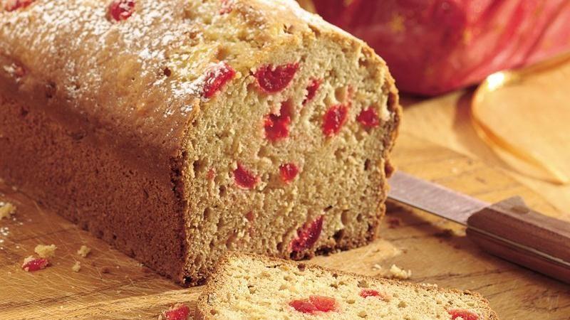 Pineapple-Cherry Quick Bread