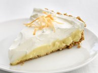 Cheerios® Healthified Coconut Cream Pie