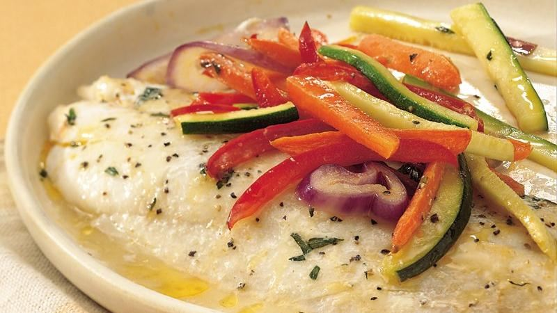 Tarragon Fish and Vegetables