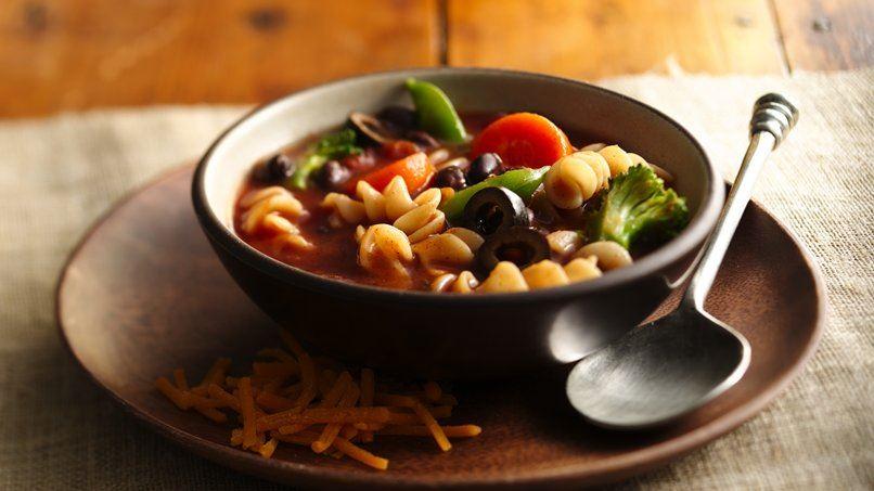 Tex-Mex Vegetable Soup
