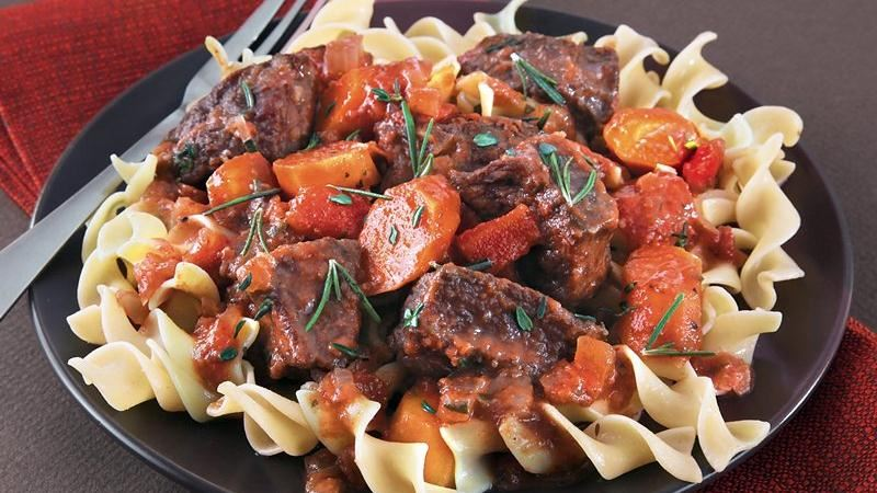 Slow-Cooker Beef Daube