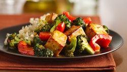 Orange-Sesame Tofu with Broccoli