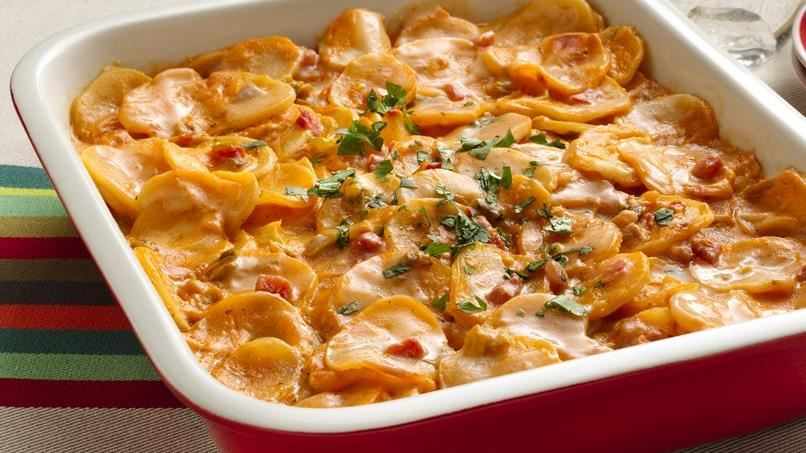 Creamy Salsa Potatoes