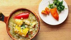 Chicken Aguadito Soup