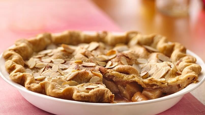 Almond-Pear Pie
