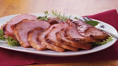 Balsamic-Brown Sugar Baked Ham