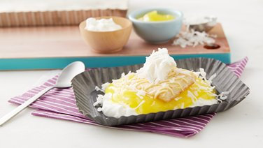 Upside Down Lemon Cream Pie