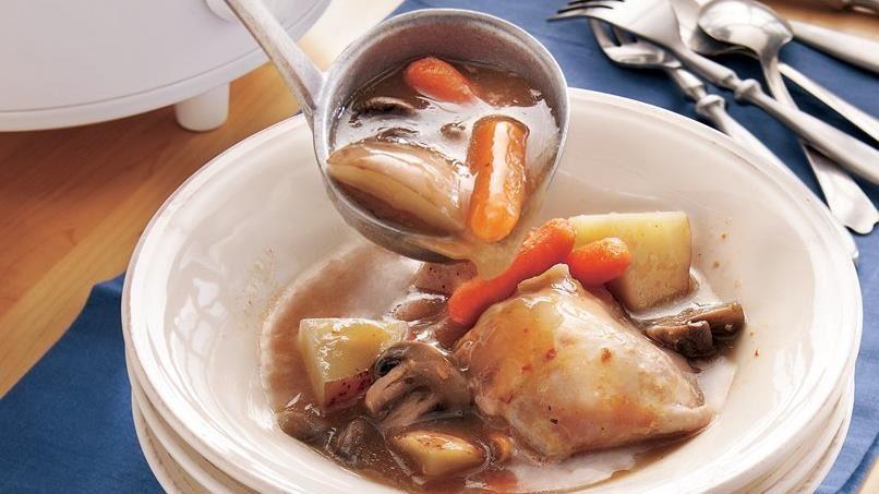 Slow-Cooker Chicken Stew