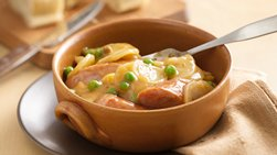 Slow-Cooker Scalloped Potato and Sausage Supper