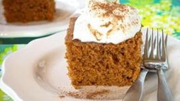 Slow-Cooker Pumpkin Cake