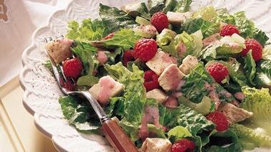 Raspberry-Chicken Salad