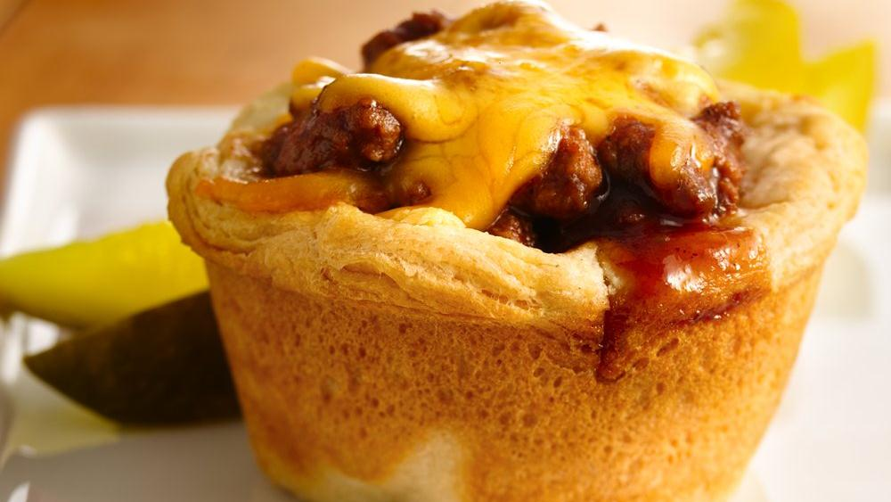 Grands! Biscuit Taco Cups Recipe — Dishmaps
