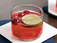 Sparkling Cranberry Ginger Punch