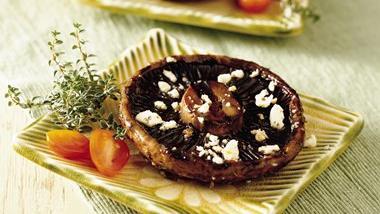 Portabella Mushrooms with Herbs