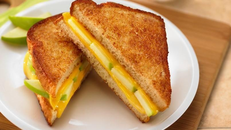 Apple Cinnamon Swirl Grilled Cheese Sandwich Recipes — Dishmaps