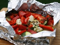 Grilled Butter-Herb Vegetable Foil Pack