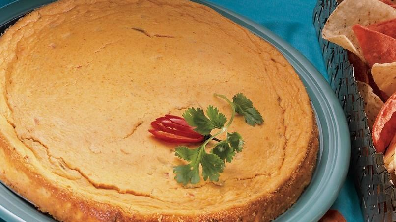 Green Chile Cheesecake Spread