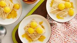 Leche de mango y limón