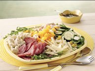 Summer Antipasto Salad with Balsamic Vinaigrette