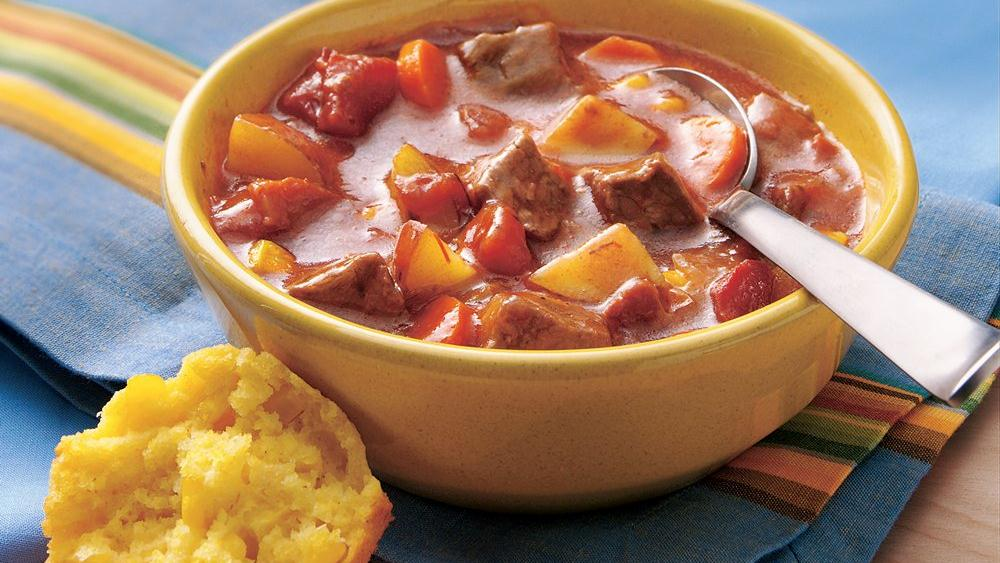Bacon-Chili Beef Stew