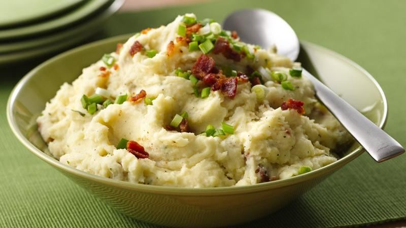 Creamy Ranch Mashed Potatoes