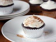 Mexican Hot Cocoa Cupcakes