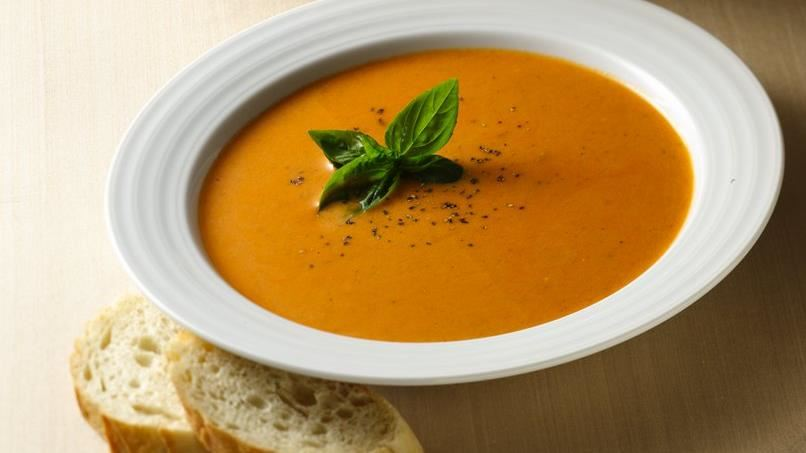 Roasted Sweet Red Pepper Soup