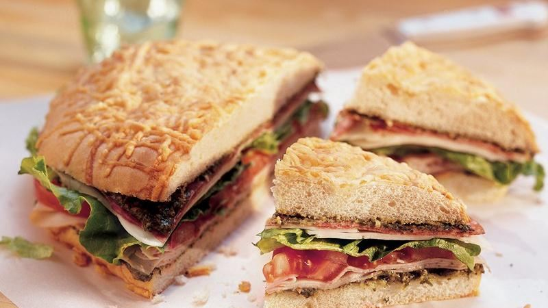 Layered Italian Sandwich