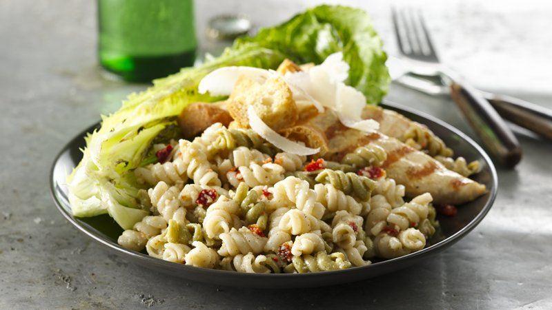 Grilled Caesar Pasta Salad