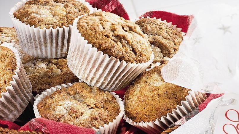 Gingerbread Bran Muffins
