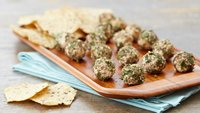 Mini Cheese Balls with Za'atar Seasoning