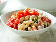 Chicken-Bacon-Ranch Pasta Salad