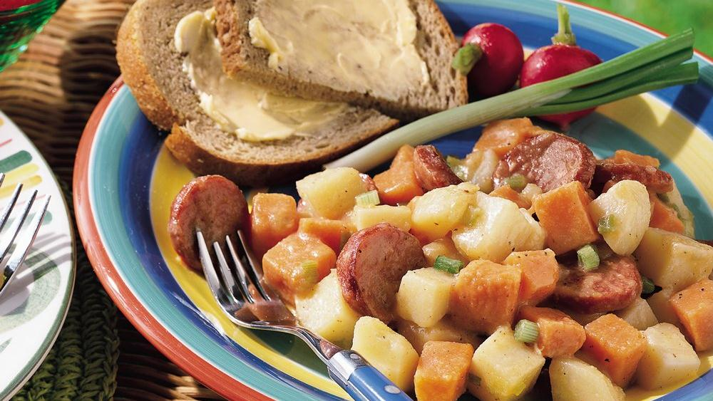 Hot Potato-Sausage Salad