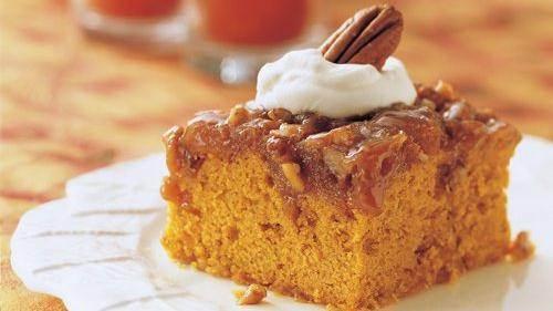 Praline Pumpkin Date Bread Recipe From Betty Crocker