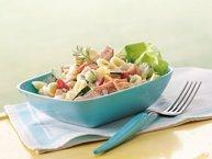Garden Vegetable and Ham Salad