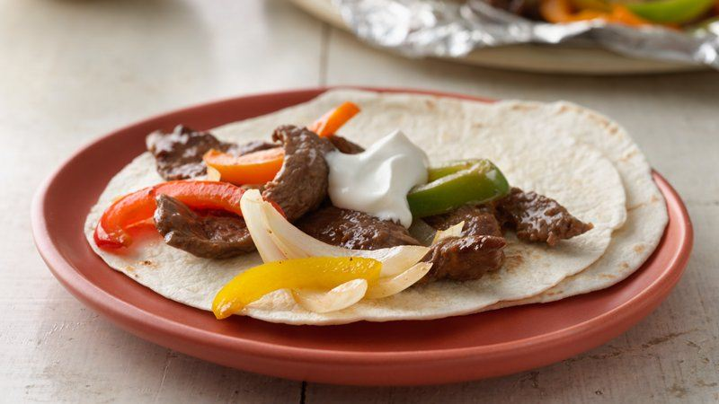 Grilled Beef Fajita Packs