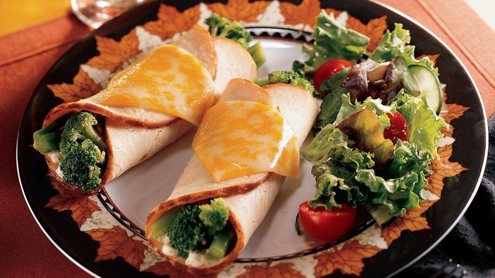 Turkey Broccoli Roll-Ups