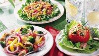 Quinoa Salad-Filled Tomatoes