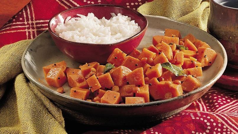 Sweet Potato Curry (Shakarai Urulikazhangu)