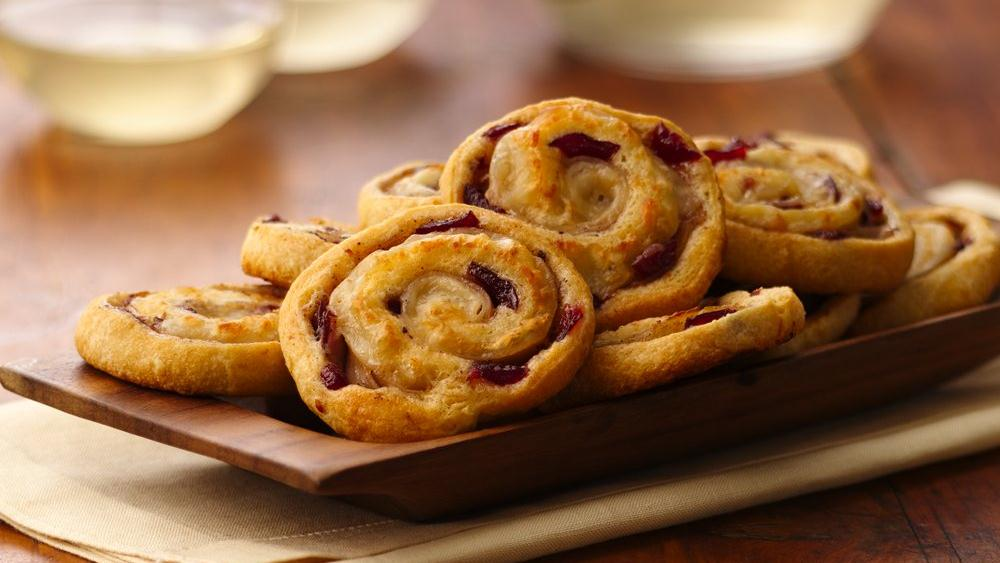 Turkey Cranberry Pinwheels