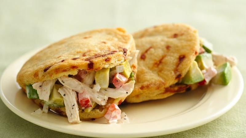 Chicken Filled Arepas