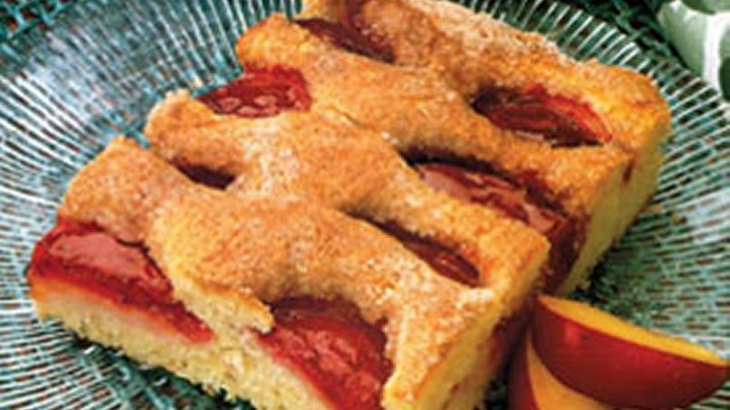 Easy Fruit Coffee Cake