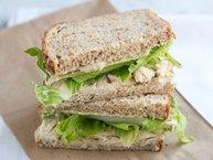 Chicken Sandwich with White Bean and Pesto Spread