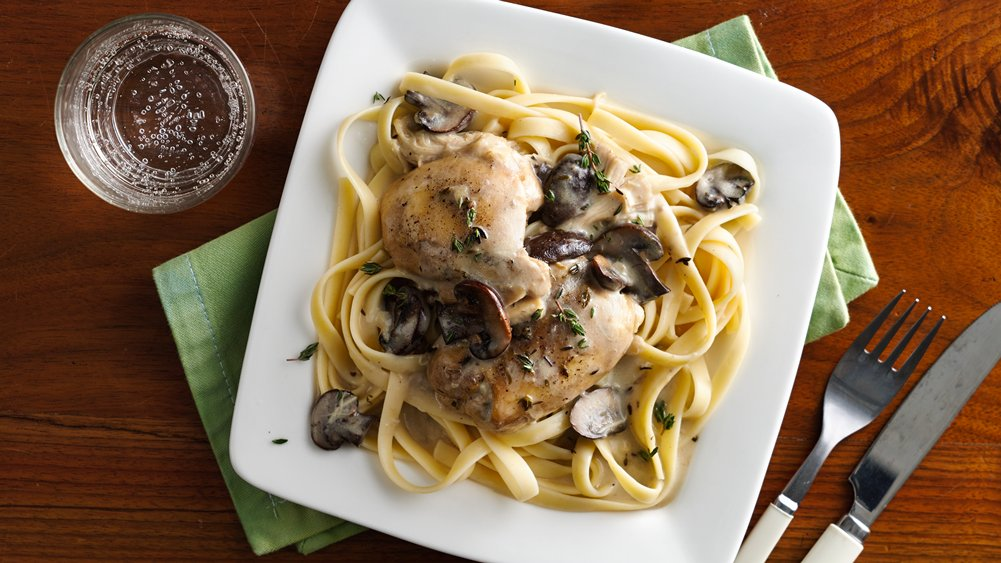 Slow-Cooker Creamy Chicken Marsala recipe from Pillsbury.com