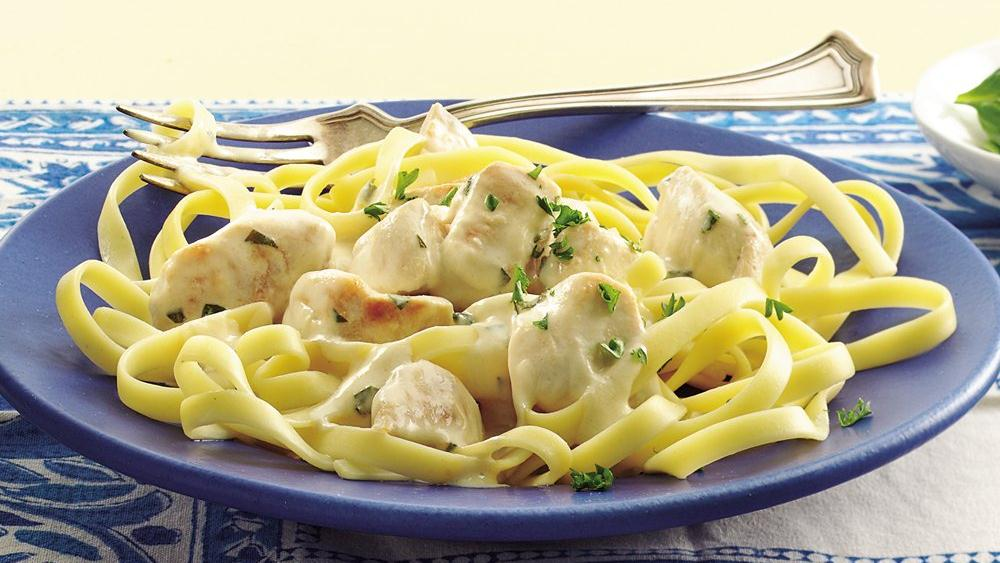 Chicken with Dijon-Tarragon Cream Sauce