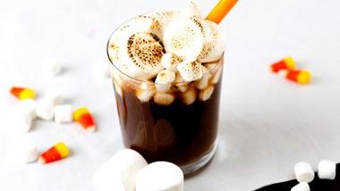 Spiked-Toasted Marshmallow Halloween Root Beer