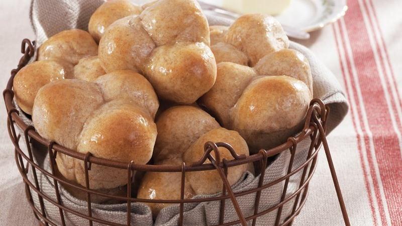 Honey-Wheat Yeast Rolls